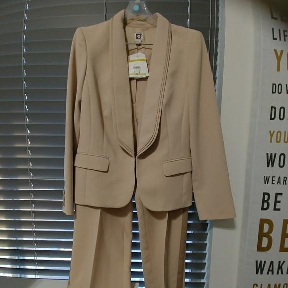Anne Klein Suits Blazers Nwt Womens Champagne Dress Suit Poshmark